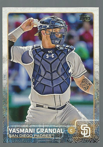 Photo of 2015 Topps #338 Yasmani Grandal