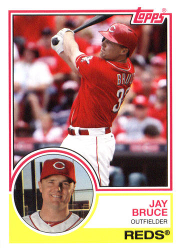Photo of 2015 Topps Archives #220 Jay Bruce