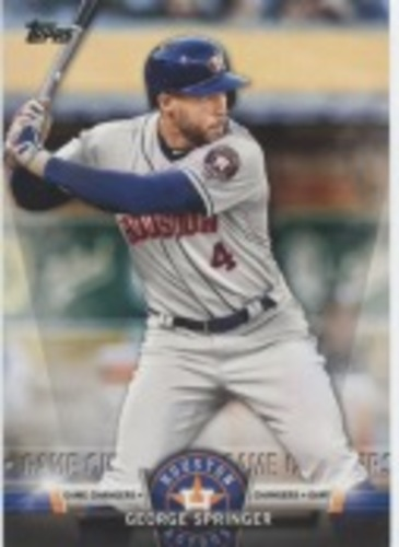 Photo of 2018 Topps Update Salute #S46 George Springer