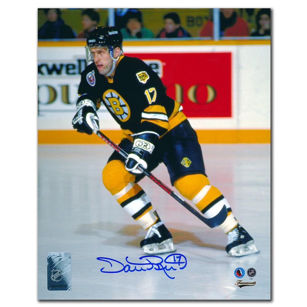 Dave Reid Boston Bruins Autographed 8x10