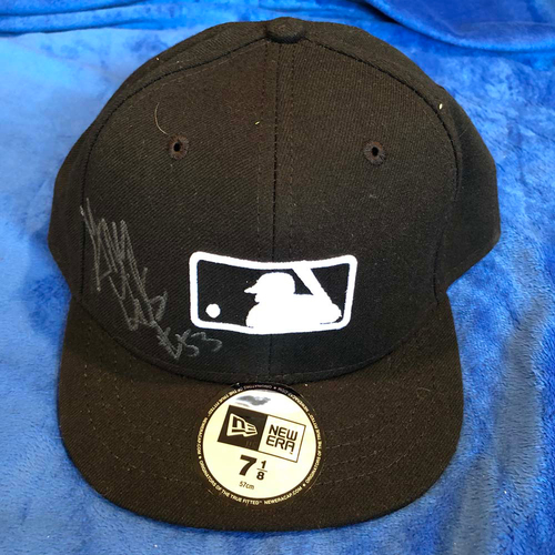Photo of UMPS CARE AUCTION: Greg Gibson Signed Plate Cap, Size 7 1/8