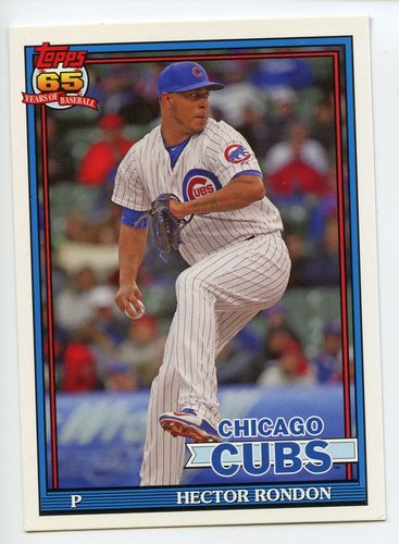 Photo of 2016 Topps Archives #299 Hector Rondon