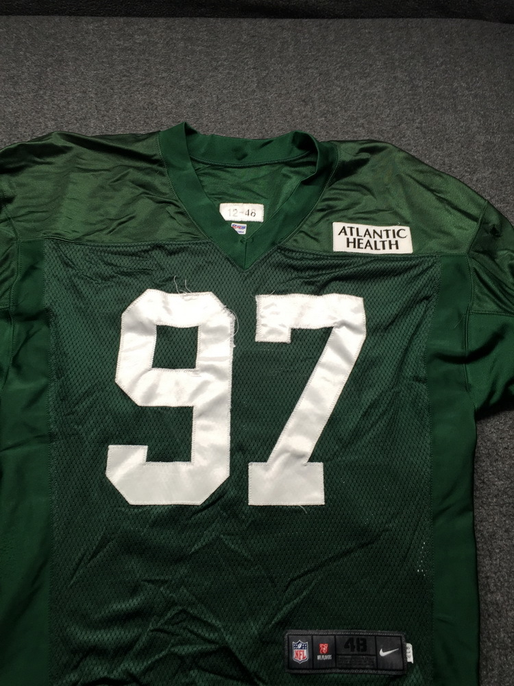 Jets - #97 Practice Used Jersey Size 46