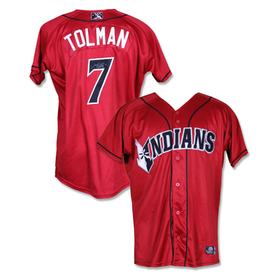 #7 Mitchell Tolman Autographed Game Worn Jersey