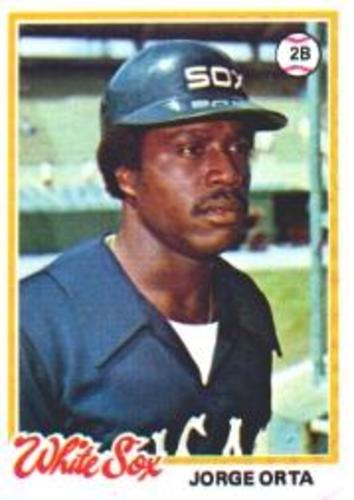 Photo of 1978 Topps #42 Jorge Orta