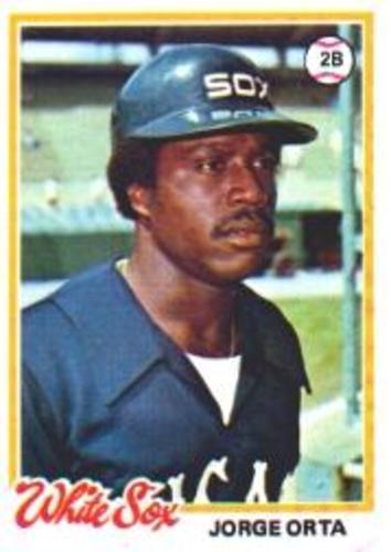 Photo of 1978 Topps #42 Jorge Orta