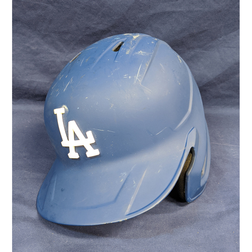 Kenta Maeda Team Issued 2019 Post Season Batting Helmet