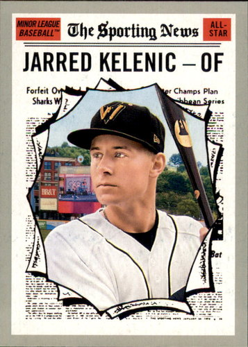 Photo of 2019 Topps Heritage Minors #186 Jarred Kelenic AS