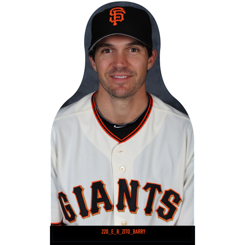 Photo of Giants Community Fund: Giants Barry Zito Cutout