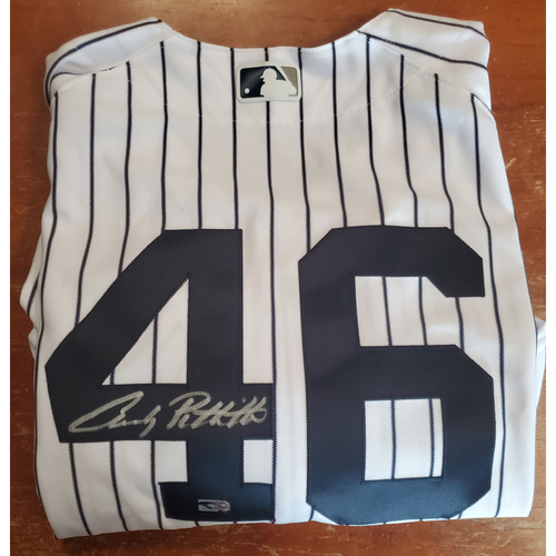 Autographed Jersey - Andy Pettitte - Size 50