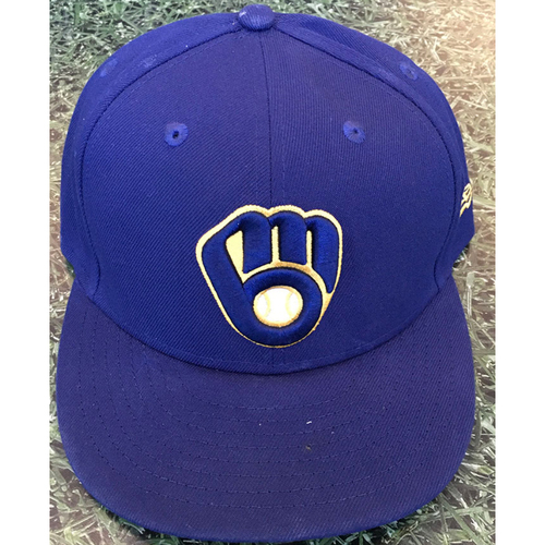 Photo of #35 2020 Team-Issued Milwaukee Brewers Cap