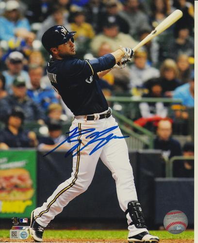 Photo of Ryan Braun Autographed 8x10