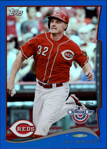 Photo of 2014 Topps Opening Day Blue #109 Jay Bruce