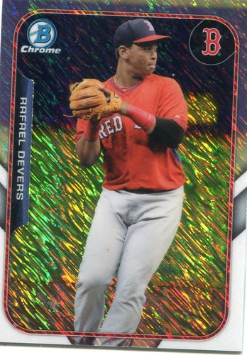 Photo of 2015 Bowman Chrome Farm's Finest Minis #FFMRD Rafael Devers