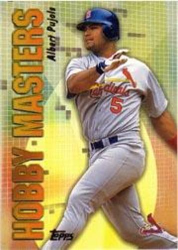 Photo of 2002 Topps Hobby Masters #HM9 Albert Pujols
