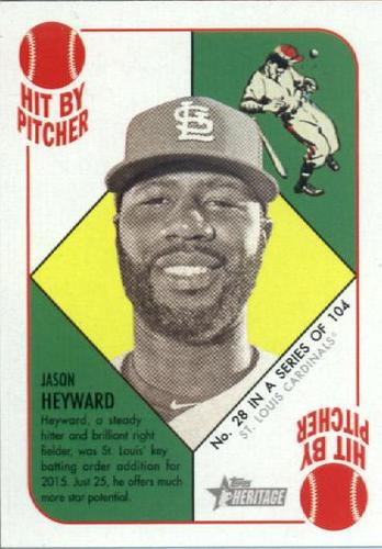 Photo of 2015 Topps Heritage '51 Collection #28 Jason Heyward