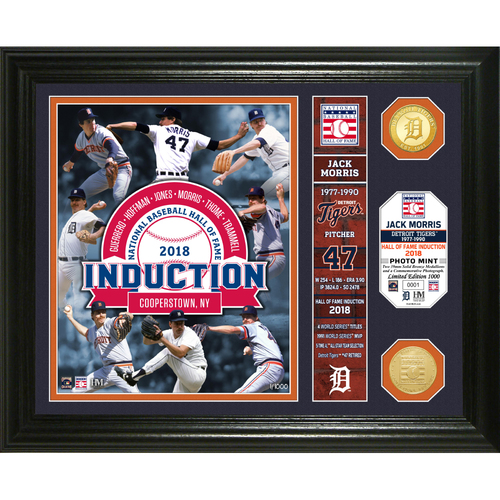 Photo of Serial #1! Jack Morris Class of 2018 Banner Bronze Coin Photo Mint