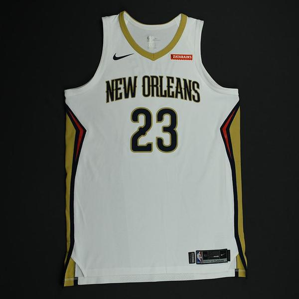 52418814d Anthony Davis - White Regular Season - worn November 11