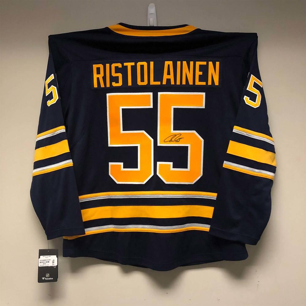 Buffalo Sabres Fanatics Jersey Signed by #55 Rasmus Ristolainen