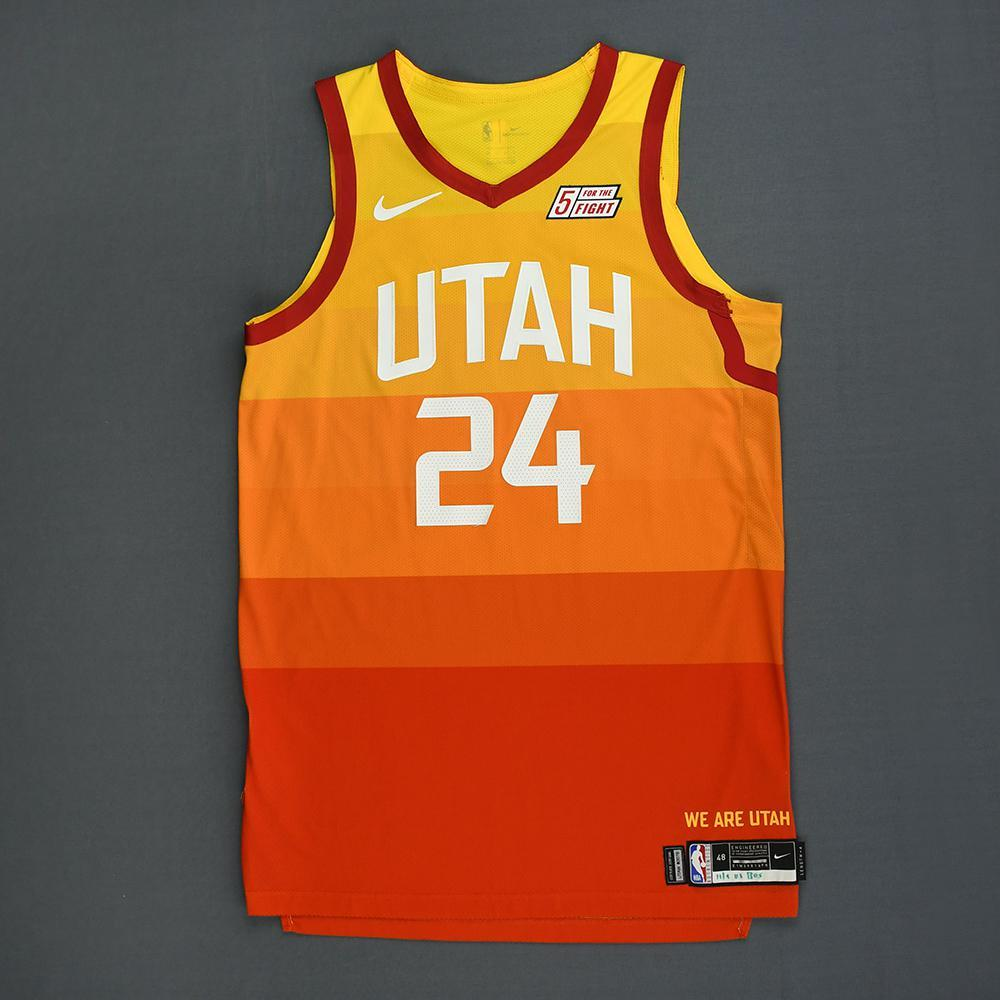 promo code 63bd3 2ff6c Grayson Allen - Utah Jazz - Game-Worn City Edition Jersey ...