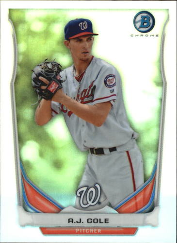 Photo of 2014 Bowman Chrome Bowman Scout Top 5 Mini Refractors #BMWN2 A.J. Cole