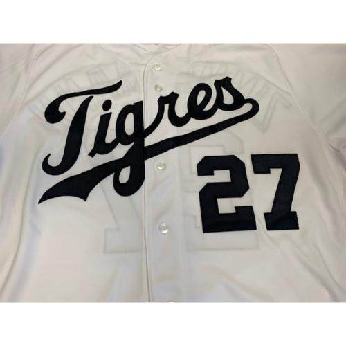 Photo of Team-Issued Fiesta Tigres Jersey: Jordan Zimmermann