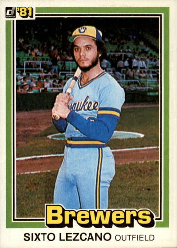 Photo of 1981 Donruss #207 Sixto Lezcano