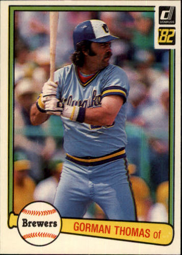 Photo of 1982 Donruss #132 Gorman Thomas