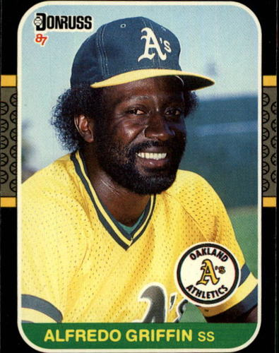 Photo of 1987 Donruss #256 Alfredo Griffin