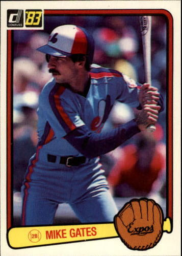 Photo of 1983 Donruss #114 Mike Gates