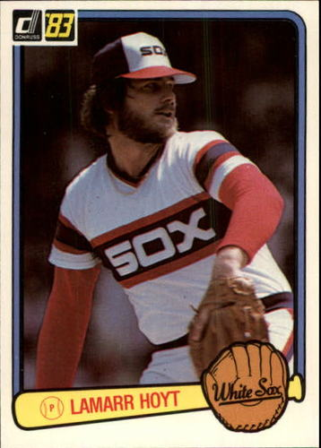 Photo of 1983 Donruss #632 LaMarr Hoyt
