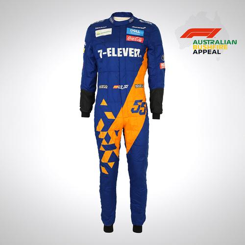Photo of Carlos Sainz 2019 Signed Race Suit