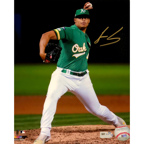 "Photo of Jesus Luzardo Autographed 8""x10"" Photo"