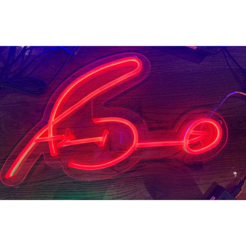 Photo of Adam Duvall Neon Autograph Sign
