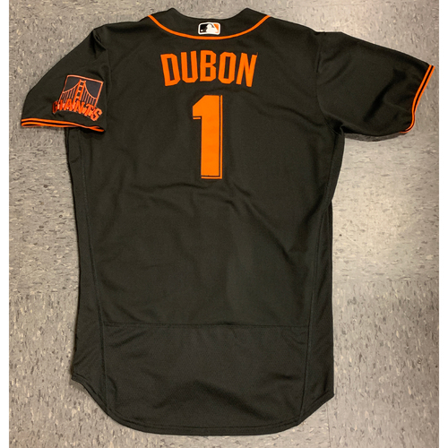 Photo of 2020 Game Used Summer Camp Jersey - #1 Mauricio Dubon - used 7/21 vs OAK - size 44