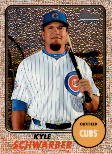 Photo of 2017 Topps Heritage Chrome #THC423 Kyle Schwarber