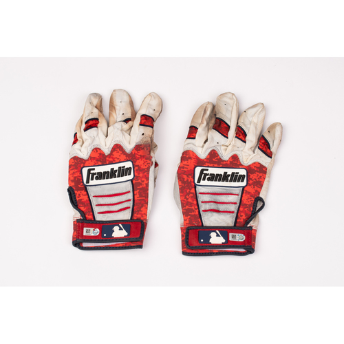 Photo of Justin Upton Team Issued Batting Gloves