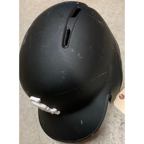 Photo of Black Clubhouse Helmet - #1 - Size 7 3/4 - NOT MLB Authenticated
