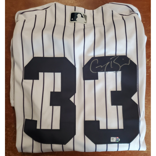 Photo of Autographed Jersey - Greg Bird - Size 48