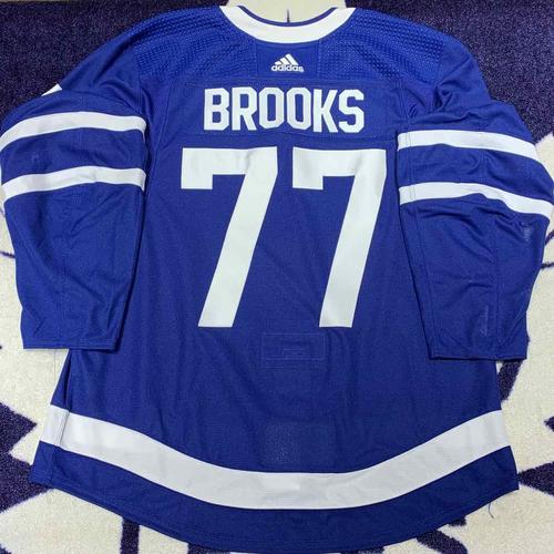 Adam Brooks 2019-20 Home Game Worn Jersey