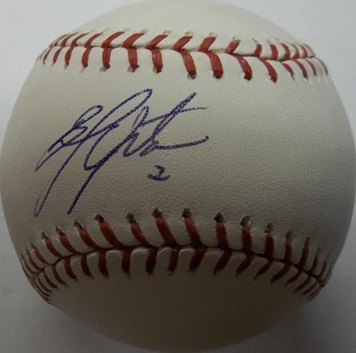 Melvin Upton Jr. Autographed Baseball