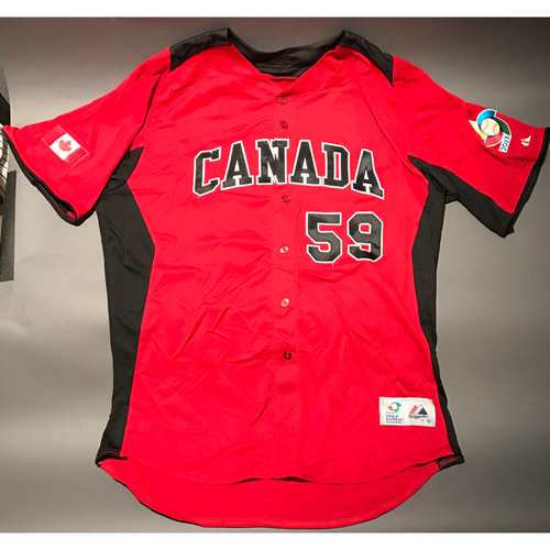 Photo of 2013 World Baseball Classic Jersey - Canada Jersey, John Axford #59