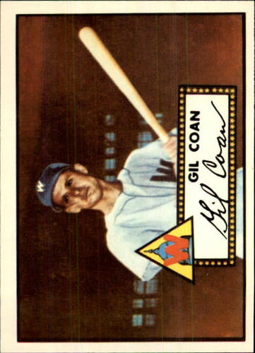 Photo of 1983 Topps 1952 Reprint #291 Gil Coan