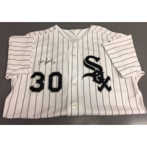 Photo of Countdown to SoxFest - Tim Raines Autographed Team Issued Jersey