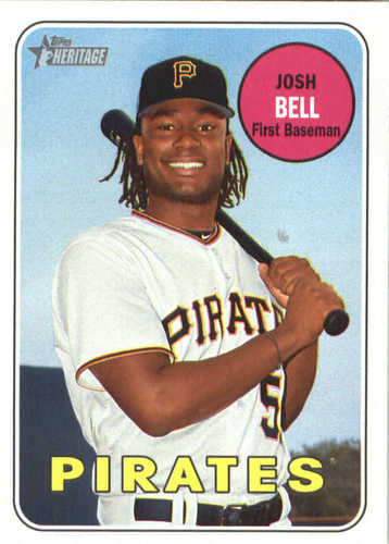 Photo of 2018 Topps Heritage #305 Josh Bell