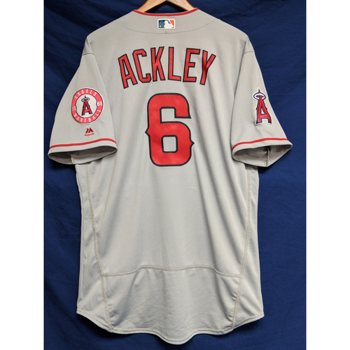 Photo of Dustin Ackley Team-Issued Road Jersey