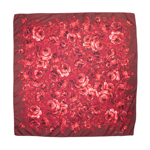 Photo of Claudia's Red Roses Print Scarf