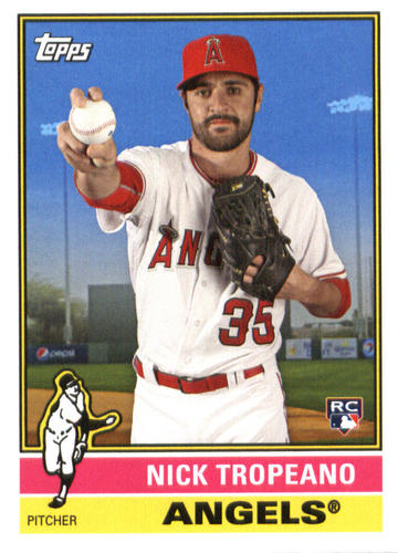 Photo of 2015 Topps Archives #157 Nick Tropeano RC