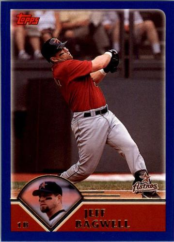 Photo of 2003 Topps #593 Jeff Bagwell