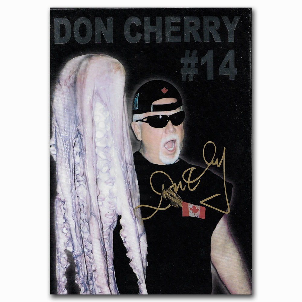 Don Cherry Autographed DON CHERRY 14 DVD